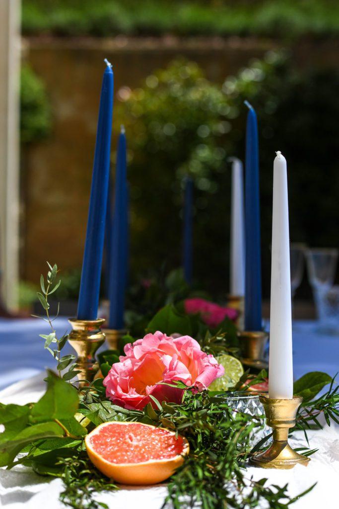 Decoration florale Shooting domaine canaille Cassis