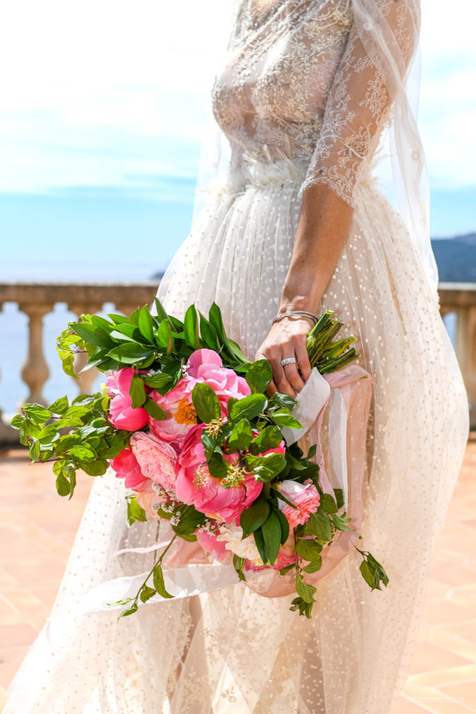 Decoration florale Shooting domaine canaille Cassis