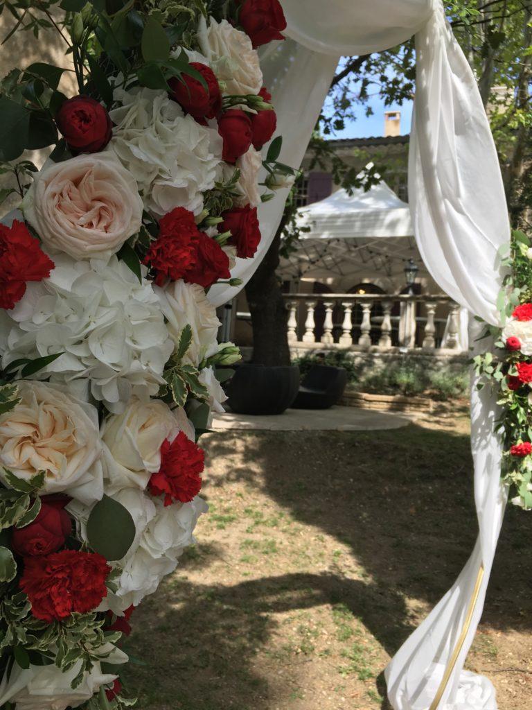 Decoration florale Audrey et Jean-Yves